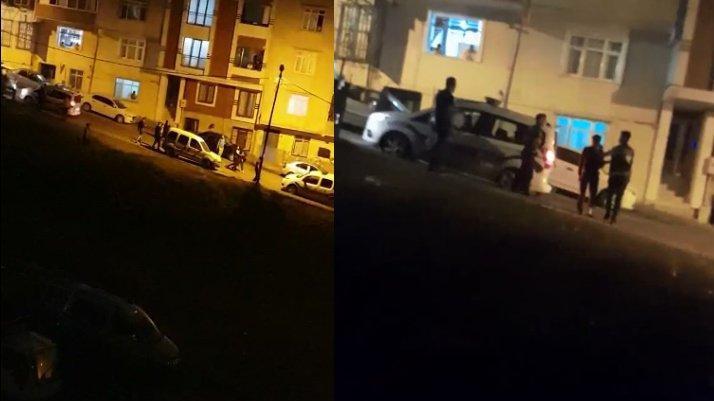 İstanbul'da kaçak göçmen bırakan sürücüyle mahalleli arasında kovalamaca