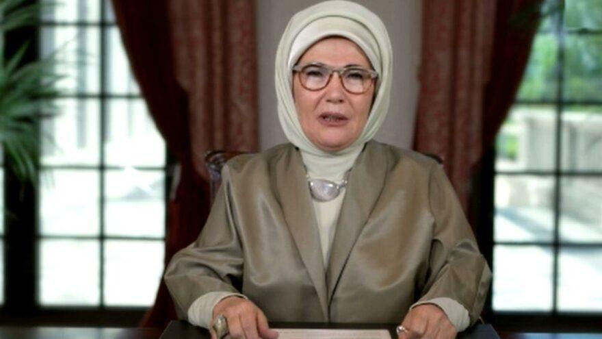 Emine Erdoğan, Kiev Lider Eşleri Zirvesi'ne mesaj gönderdi