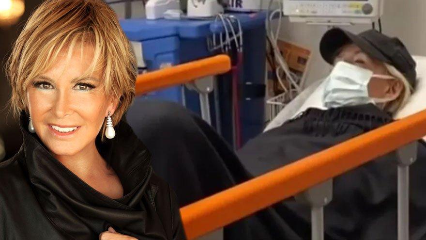 Filiz Akın hastaneye yatırıldığı görüntüleri paylaştı: Corona kadar ölümcül