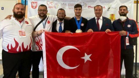 Sami Baki Kıymet rekorla Avrupa şampiyonu