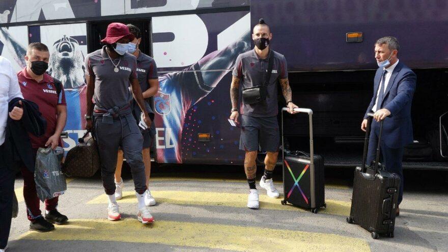 Trabzonspor Roma'ya gitti! Kadro belli oldu…