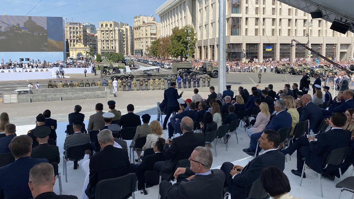 Ukrayna, bağımsızlığın 30'uncu yılını kutladı