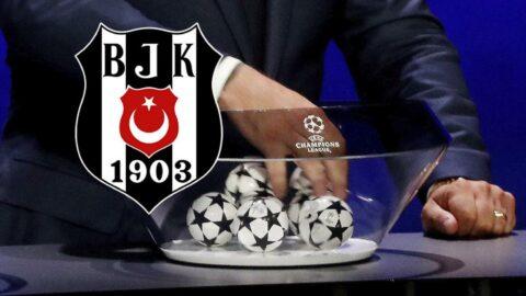 SON DAKİKA | Beşiktaş'ın Şampiyonlar Ligi'ndeki rakipleri belli oldu