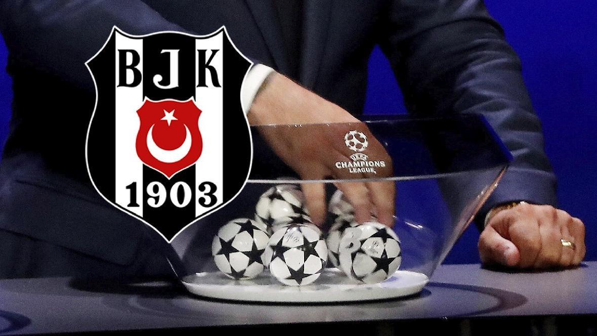 SON DAKİKA   Beşiktaş'ın Şampiyonlar Ligi'ndeki rakipleri belli oldu
