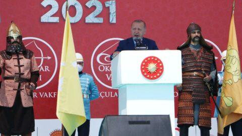 Cumhurbaşkanı Erdoğan: Büyük ve güçlü Türkiye'nin yolunun kesilmesine rıza göstermeyeceğiz