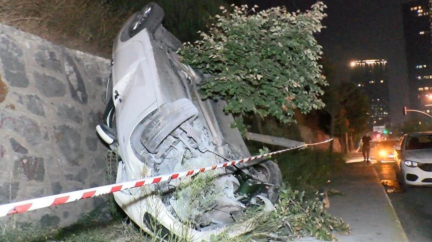 Bağcılar'da kaza: 2 yaralı