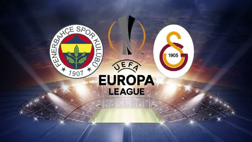 UEFA Avrupa Ligi'nde Fenerbahçe ve Galatasaray'ın muhtemel rakipleri belli oldu