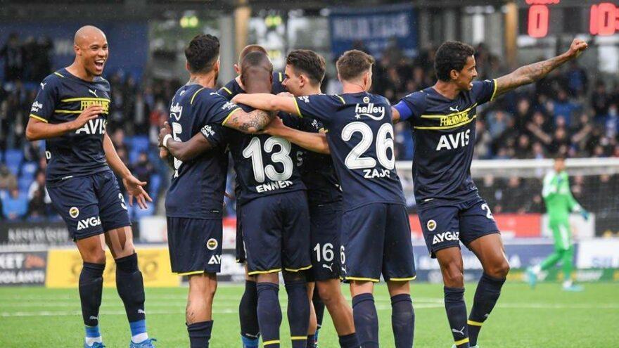 Fenerbahçe, Helsinki'yi 5 golle yenip Avrupa Ligi'nde gruplara kaldı