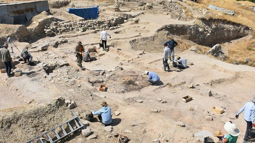 Arslantepe Höyüğü'nde 5 bin 500 yıllık kalıntılar bulundu