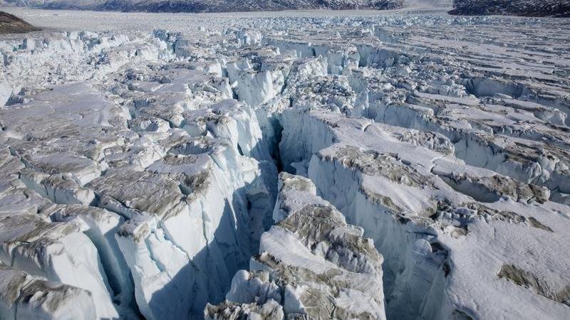 Grönland'da rekor erime, gezegen alarm veriyor