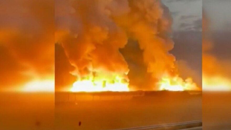Kazakistan'da patlama! Çok sayıda yaralı var