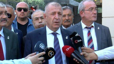 Ümit Özdağ, Zafer Partisi'nin kuruluş belgesini teslim aldı