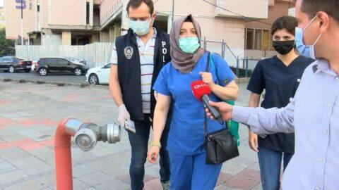 Hacamat yaptıran kadın ölümden döndü, polis baskın yaptı