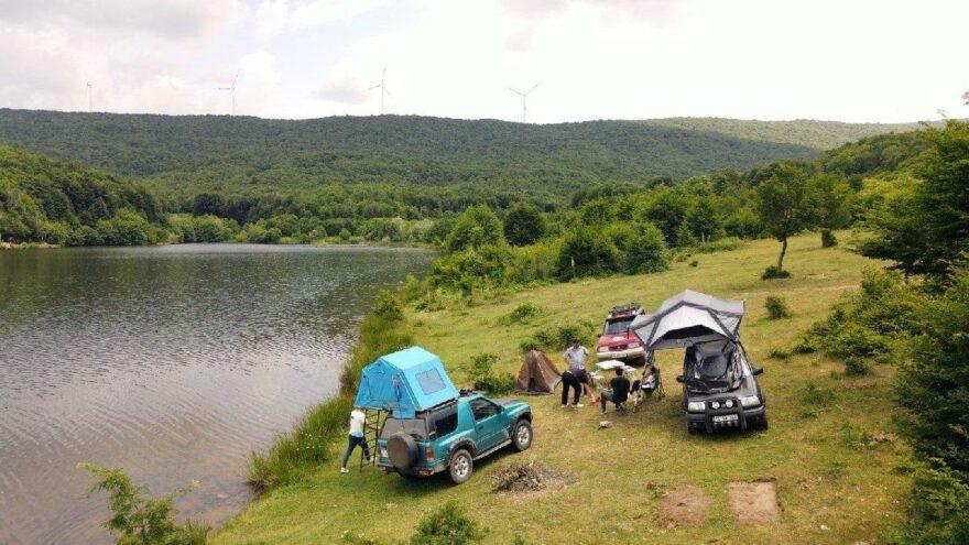 Kazası ve tostuyla meşhur Susurluk'un etkileyici arka bahçesi