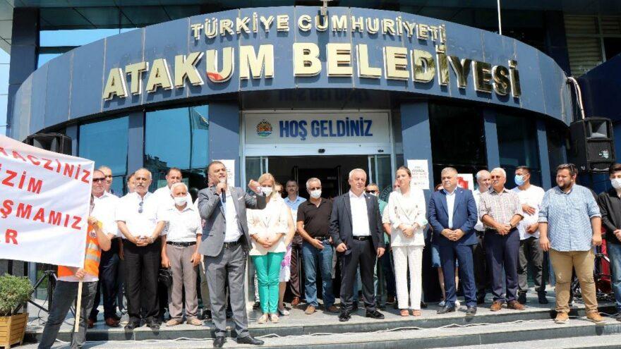 CHP'li belediyenin banka hesaplarına haciz
