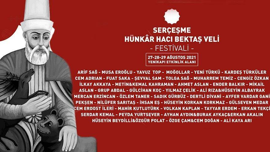 Serçeşme Hünkâr Hacı Bektaş Veli Festivali yarın başlıyor