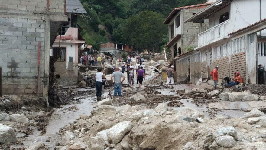 Venezuela'da sel felaketi: En az 20 ölü
