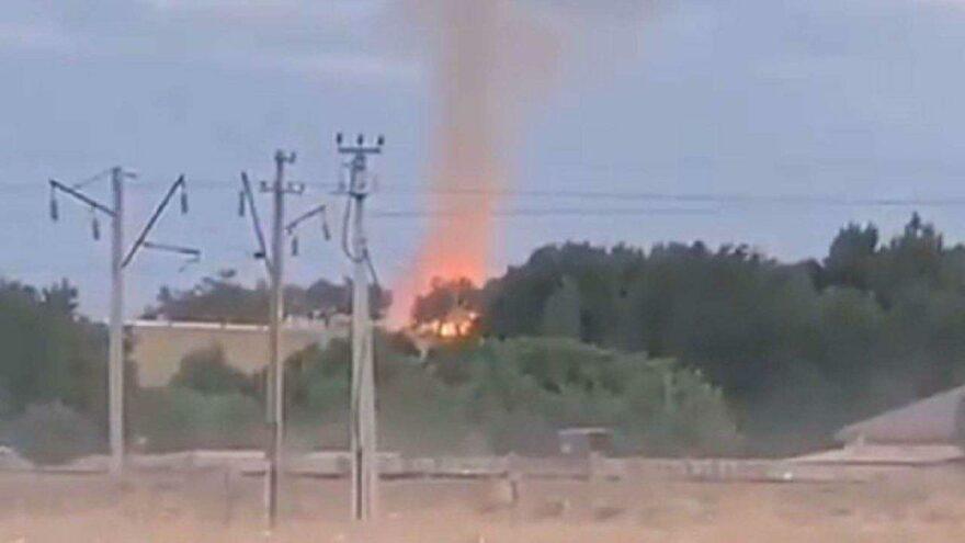 Kazakistan'da mühimmat deposu patladı