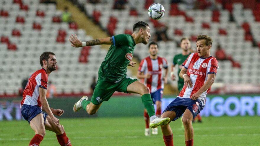 3 penaltılı açılış maçında 3 puan Antalyaspor'un