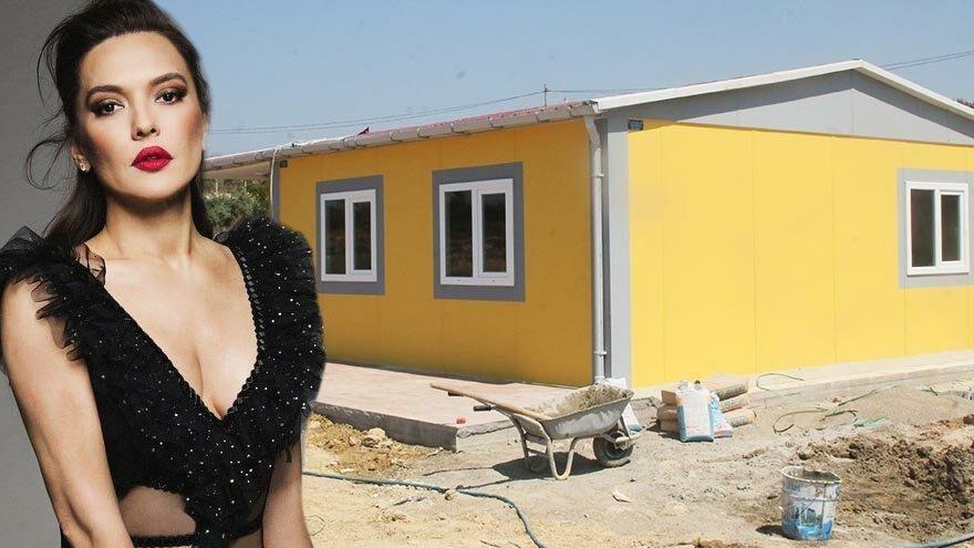 Demet Akalın yangında evini kaybeden Fatma Öksüzoğlu'na verdiği sözü tuttu