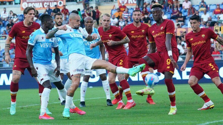 Trabzonspor kalesini gole kapatamadı