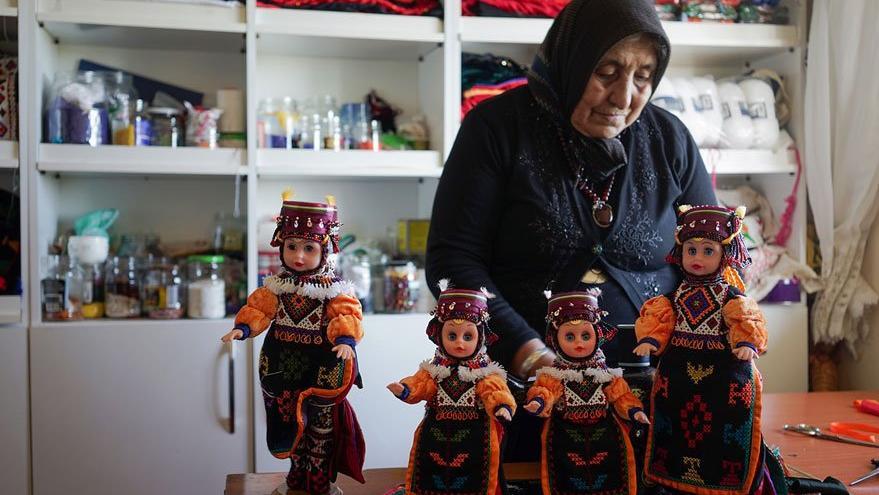 75 yaşındaki Fidan teyze 40 yıldır bebek üretiyor