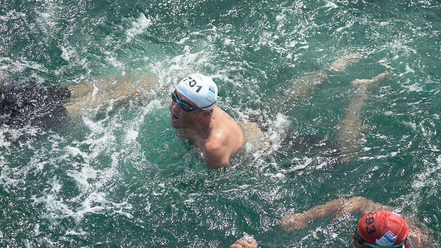 Boğazı yüzerek geçti hedefi Manş Denizi
