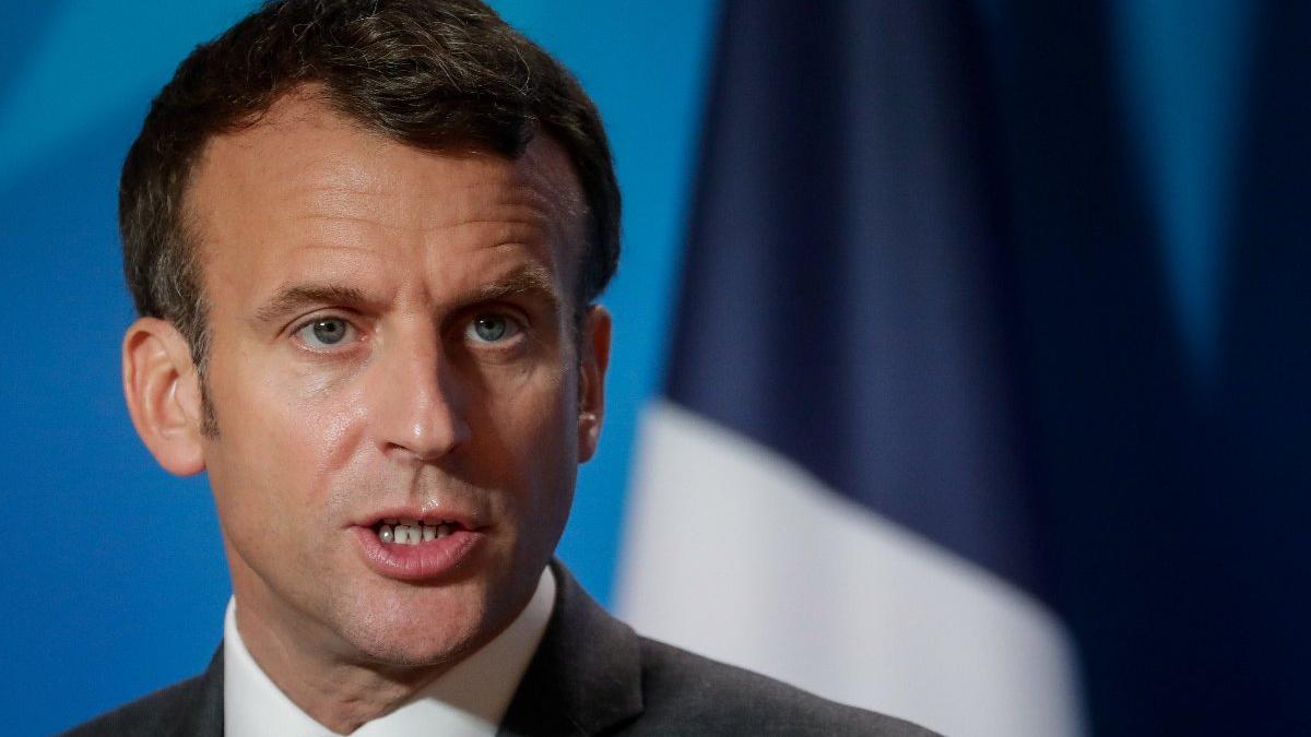 Fransa Cumhurbaşkanı Macron'dan Musul'a ziyaret