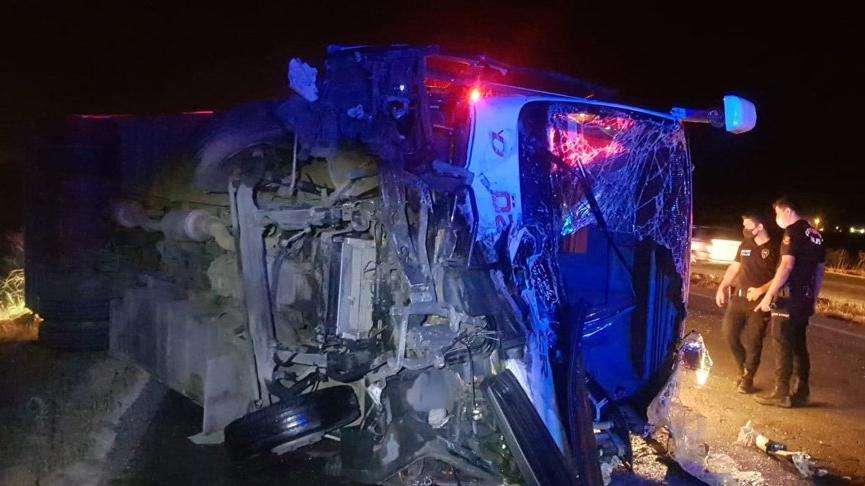 Manisa ve Kahramanmaraş'ta trafik kazaları: 8 ölü, 7 yaralı