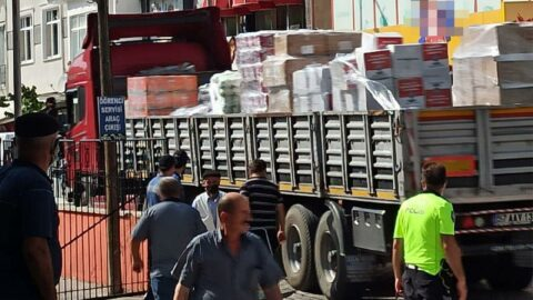 Sinop'ta skandal iddia! Selzedelere gönderilen yardımlar, Gerze'de partililere dağıtıldı