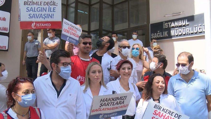 Hakları gasp edilen aile hekimleri isyanda