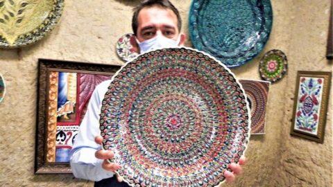 Avanos çömlekçiliğinin ünü sınırları aştı