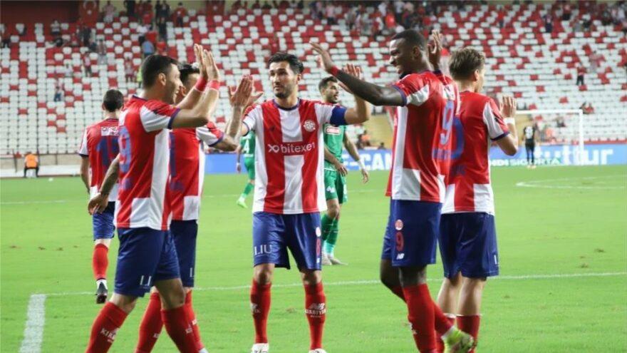Antalyaspor'un büyük hasreti sona erdi