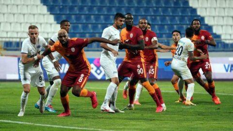 Kasımpaşa ile Galatasaray 35. kez karşı karşıya