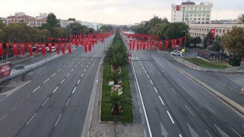 İstanbul Valiliği duyurdu: İşte trafiğe kapatılacak yollar...