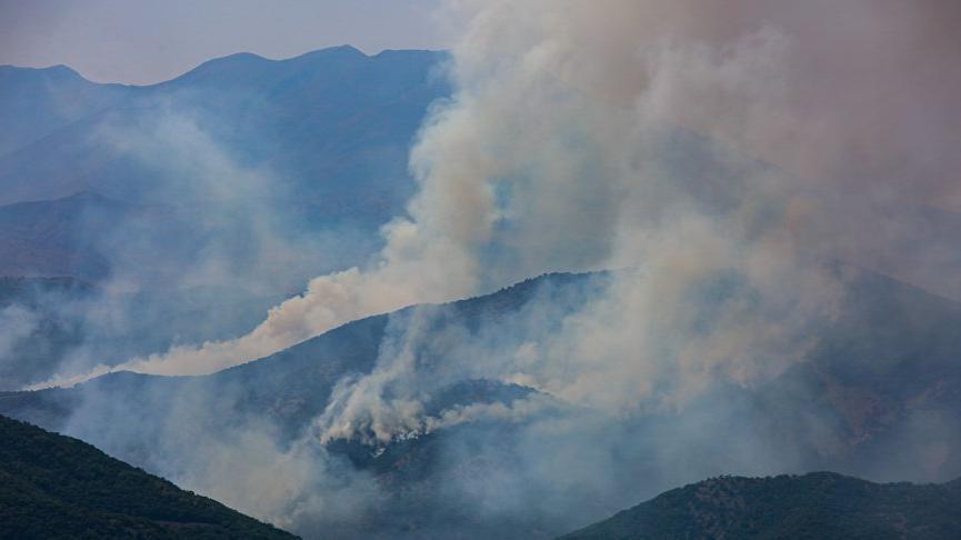 Tunceli Valiliği'nden yangınlarla ilgili açıklama