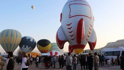 Kapadokya Balon Festivali başladı