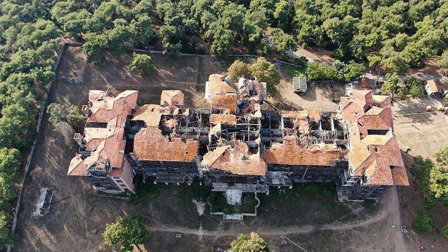 Tarihi Büyükada Rum Yetimhanesi yeniden ayaklanacak