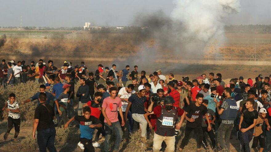 Filistinli çocuk İsrail müdahalesinde hayatını kaybetti
