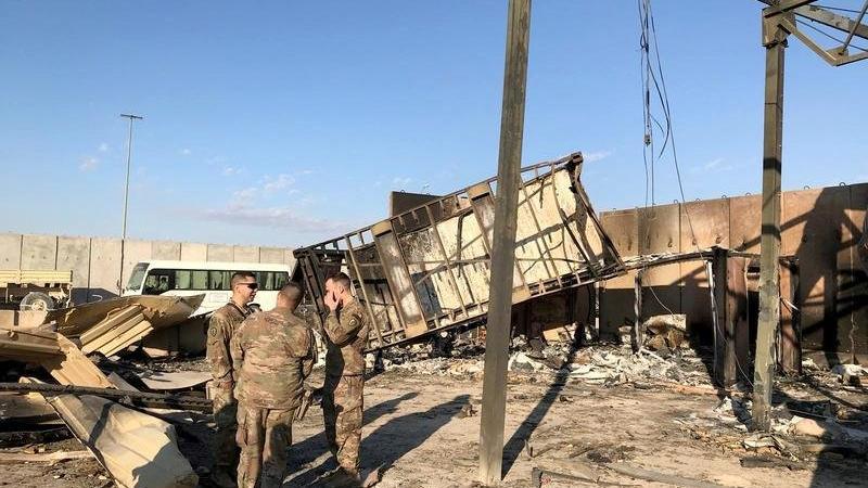 Irak'ta ABD askeri üssüne roketli saldırı