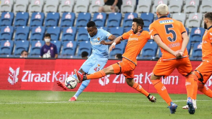 Medipol Başakşehir 3 haftada sıfır çekti! Kayserispor tek golle kazandı…