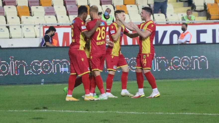 Yeni Malatyaspor Gaziantep'i iki golle devirdi
