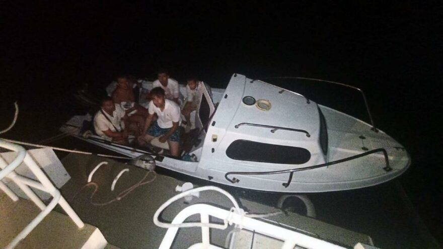 FETÖ'cüler Bodrum'da tekne ile kaçarken yakalandı