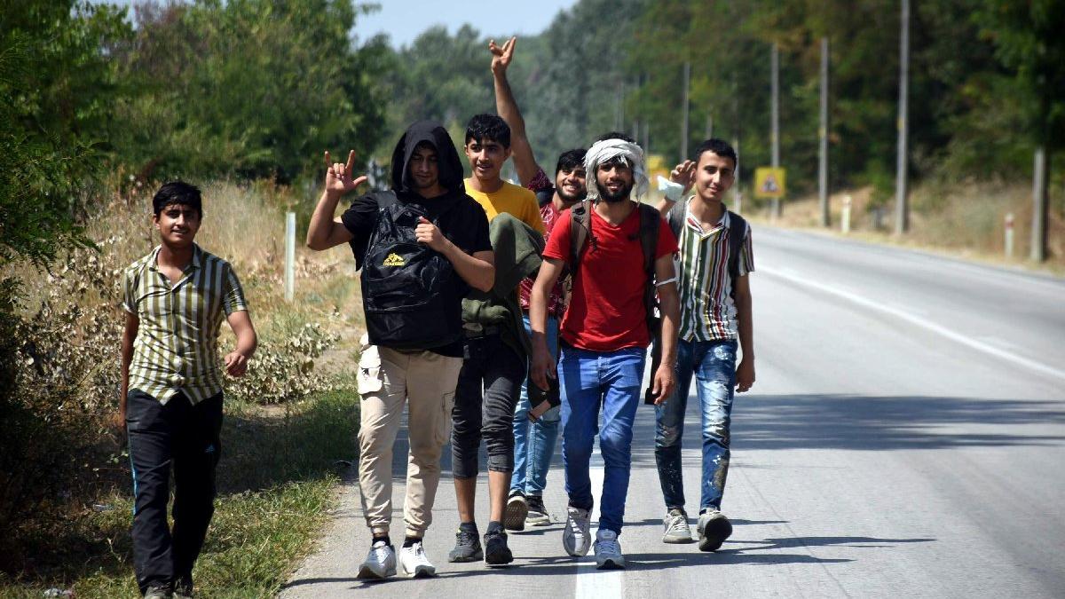 Afgan göçmenler, 'Yunanistan sınır kapılarını açtı' söylentisi üzerine Edirne'ye akın etti