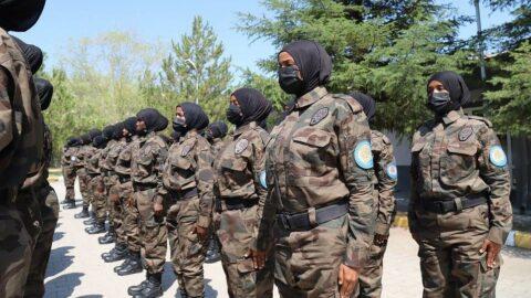 Somalili kadın polislere Çankırı'da özel harekat eğitimi