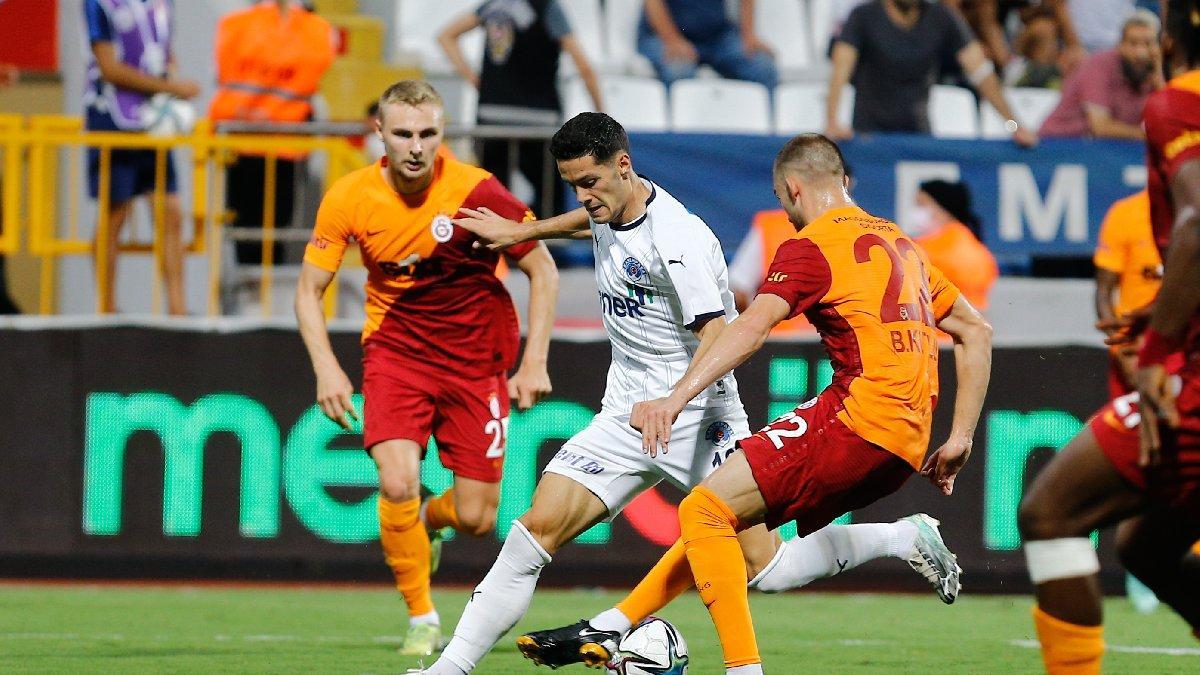 Kasımpaşa-Galatasaray maçında müthiş geri dönüş