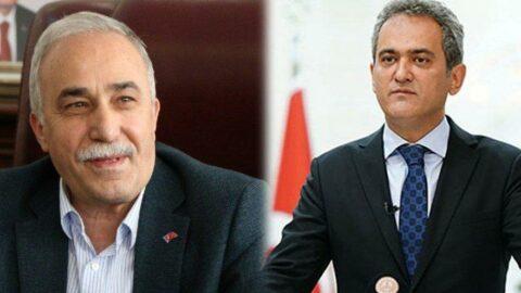 AKP'li vekilden Milli Eğitim Bakanı Özer'e: Halkımıza izah etmek zor