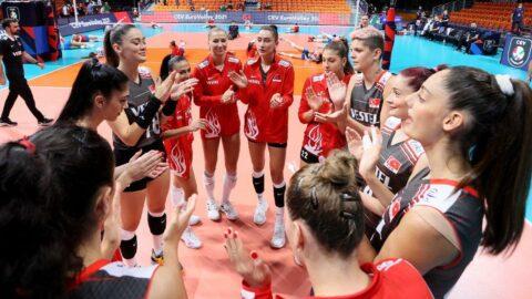Filenin Sultanları Çekya'yı devirdi, çeyrek finale yükseldi! | CEV Avrupa Şampiyonası