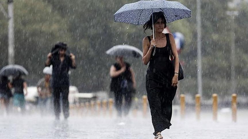 Meteoroloji saat verdi! İstanbul ve 6 il için sağanak yağış uyarısı