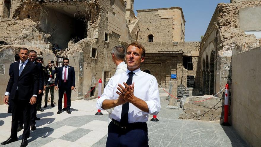 Macron: Kabil'de güvenli bölgeye hazırız